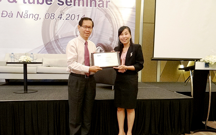 Tire And Tube Seminar With Exxonmobil In Da Nang And Ho